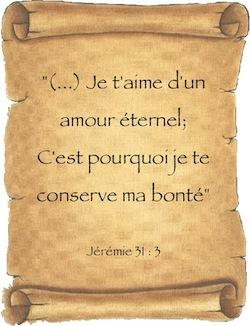 Jérémie 31 3 Dieu Vous Aime D Un Amour éternel Comj